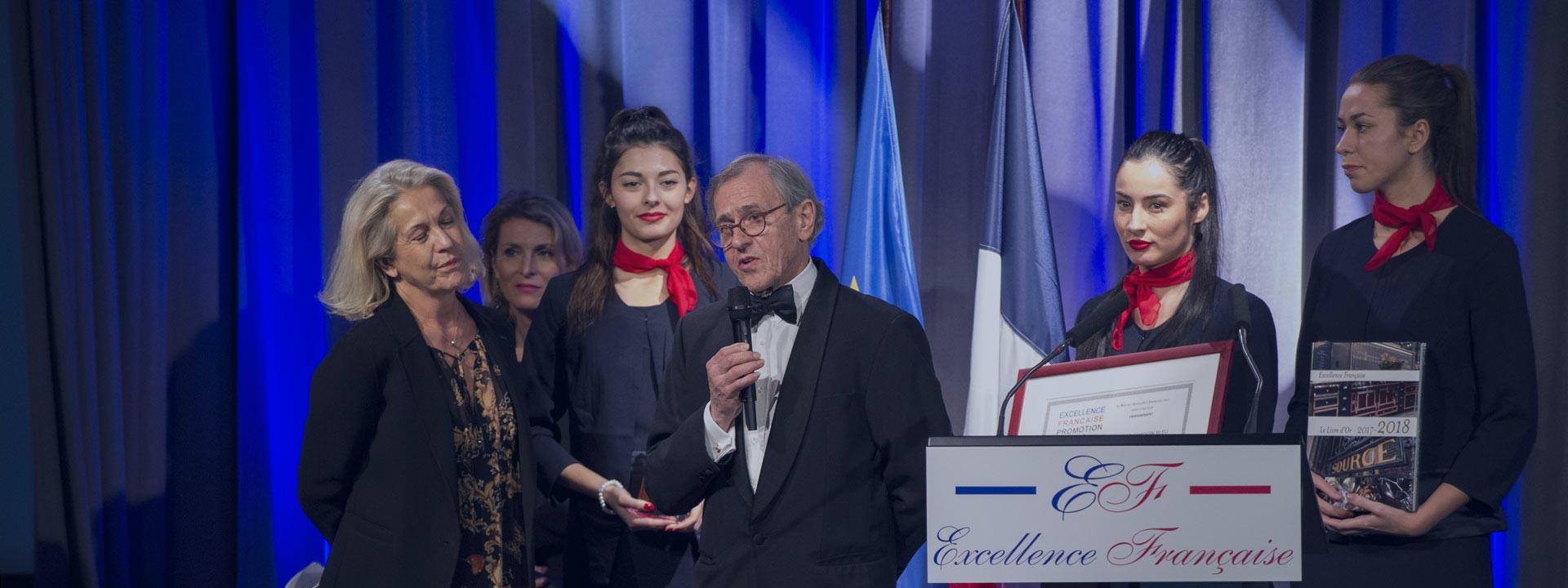 蓝带荣获法国卓越奖